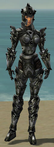 File:Warrior Obsidian Armor F gray front.jpg