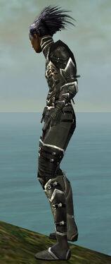 Necromancer Kurzick Armor M gray side