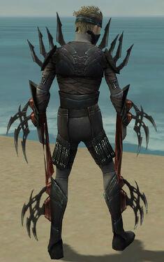Assassin Ancient Armor M gray back