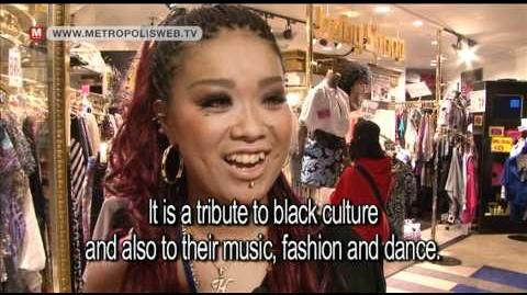 B-Gyaru 'Black lifestyle' in Japan