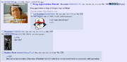A typical thread in the board named after a quote from a webcomic