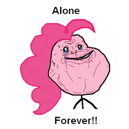 25326 - Forever forever alone pinkie pie