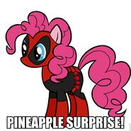 121866 - deadpool PinkiePool pinkie pie spiderman