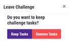 Challenge-Leave-Button