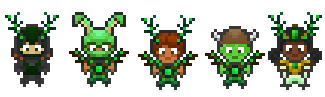 Forest Walker Set