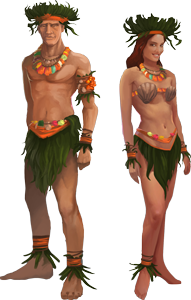 Go Pick Up Your Tropical Islander Outfit! update file number 0