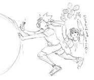 Volume 23 Hinata and Kageyama