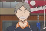 Sugawara Full Face Screenshot Season 1 Episode 21