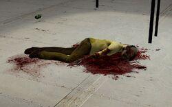 Judith Mossman's corpse