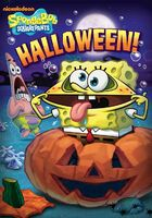 SpongeBob Halloween DVD new cover