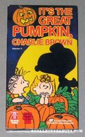 It's the Great Pumpkin, Charlie Brown VHS 1984