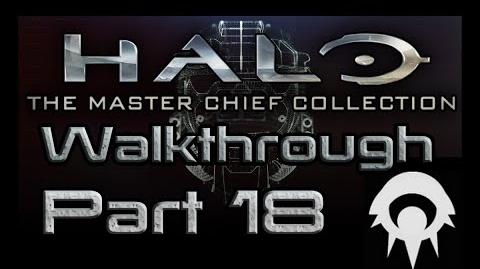 Halo- The Master Chief Collection Walkthrough - Part 18 - Delta Halo