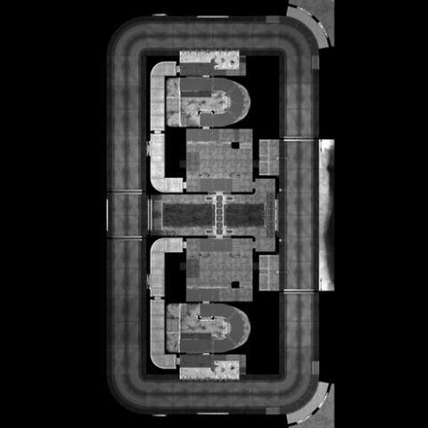 La mappa vista dall'alto