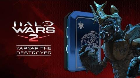 Halo Wars 2 YapYap THE DESTROYER Launch Trailer