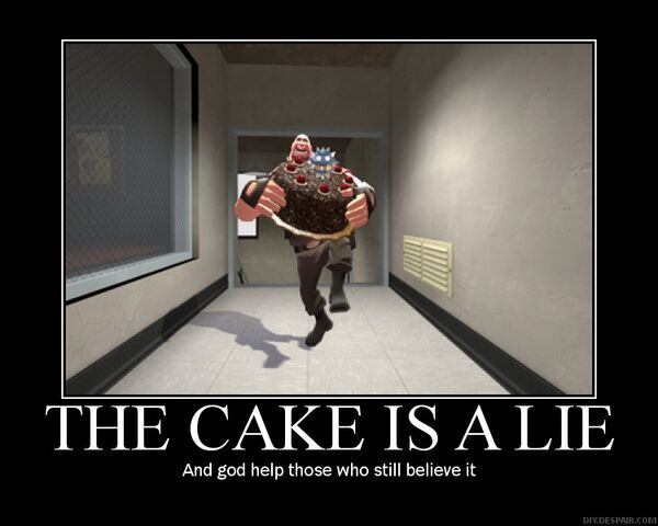 File:The Cake is a Lie by IIX4II.jpg