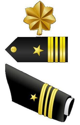 Fichier:Lt. Commander rank insignia.jpg