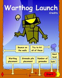 Warthog Launch Menu