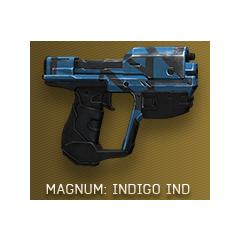 Die Magnum mit der Indigo (IND) Skin