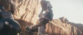 Halo 4 Spartan Ops Thorne VS Gek 1