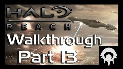 Halo Reach Walkthrough - Part 28 - Lone Wolf