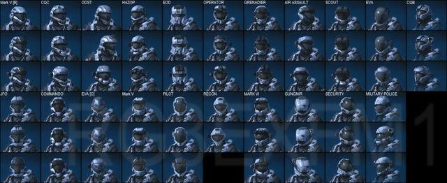 File:All Known Helmet Variants.jpg