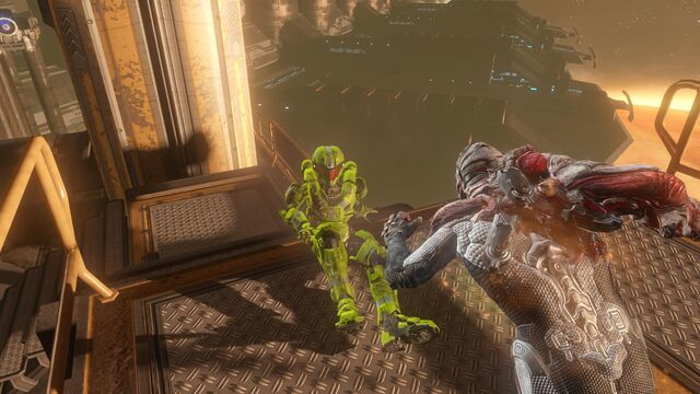 File:USER MasterChiefDragonWarrior Flood VS Spartan Adrift.jpg