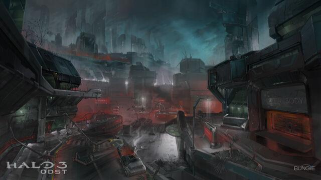 File:Halo-3-odst-concept-art-destroyed-city-at-night.jpg
