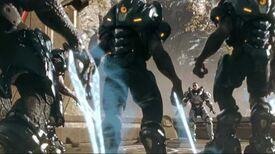 Halo 4 Spartan Ops Thorne VS Elites