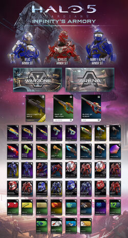 H5G Promotional-DLC Infinity'sArmory-Infograph