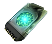 Data crystal in-game