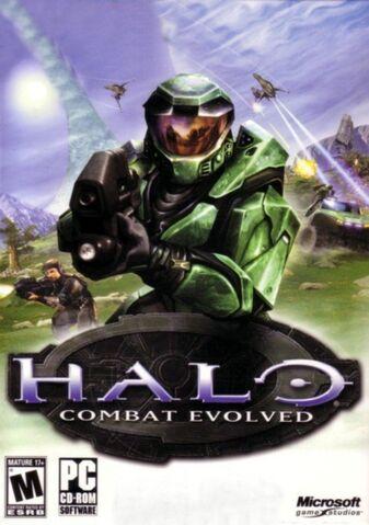 File:USER StrawDogAmerica Halo Combat Evolved Poster - Check Games 4U.jpg