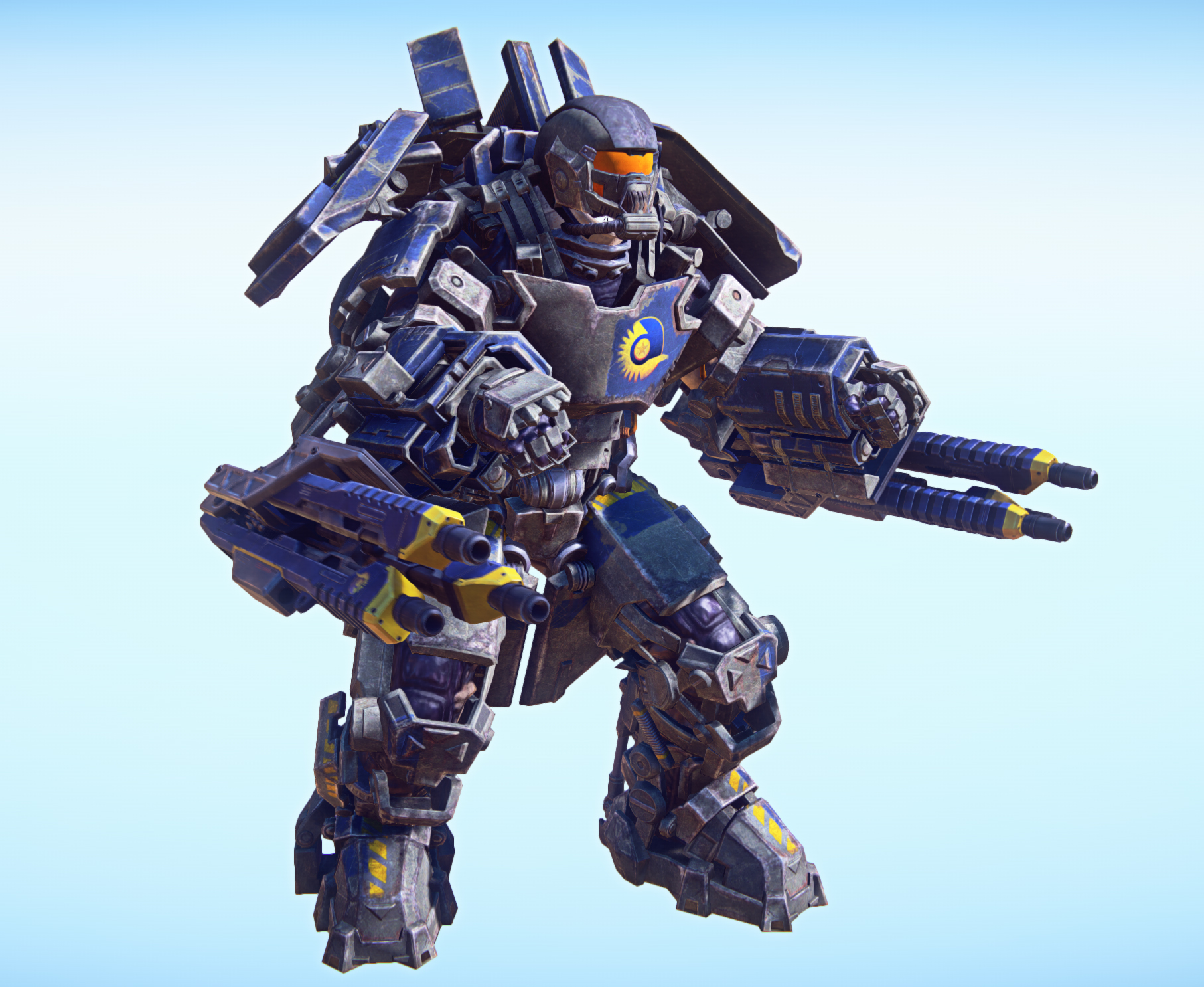 futuristic light armor