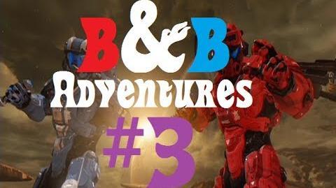 "B&B Adventures Part 3 ""Progression"" (Funny Halo 4 Machinima)"