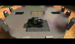 Hog on top of Base