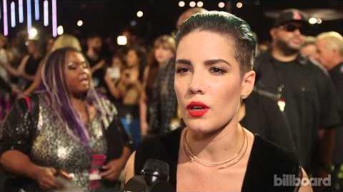 Halsey MTV VMAs Red Carpet 2015