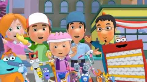 Handy Manny The Great Garage Rescue - Disney Junior Asia
