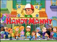 Handy Manny title screen