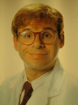 Rick Moranis has been found.