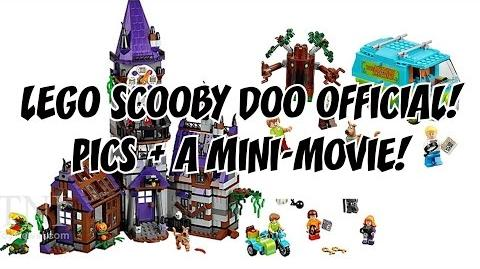 LEGO Scooby Doo Official!!! Pictures of 2 Sets Released Mini Film