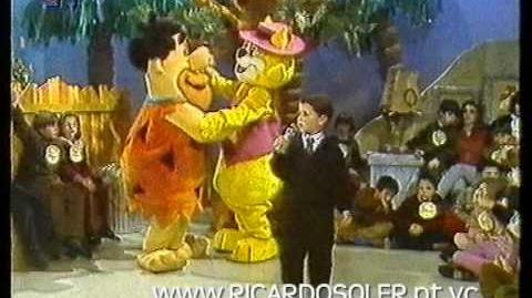 Ricardo Soler - programa Hanna Barbera (1991)