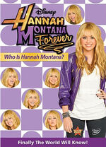 HMF Who is Hannah Montana DVD