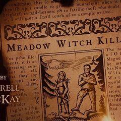 Meadow witch killed.