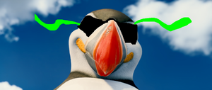 Mixer the DJ Puffin