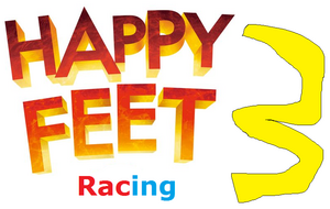 Happy Feet Racing 3 Logo