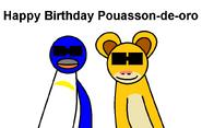 Happy Birthday Pouasson-de-oro