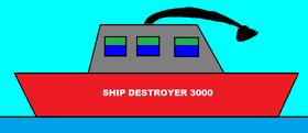 Ship Destroyer 3000
