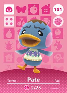 Pate Card