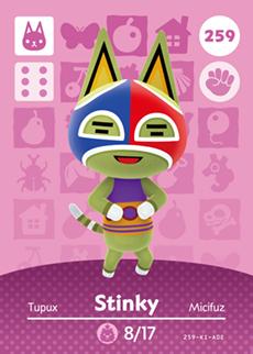 Stinky Card