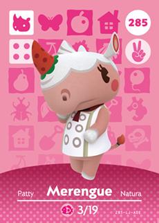Merengue Card