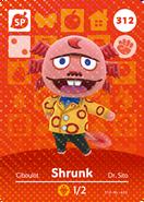 Shrunk Card